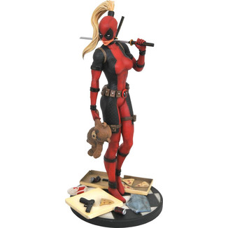 Estatua Lady Deadpool Marvel Premier Collection
