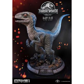 Estatua Baby Blue Tamaño Real Jurassic World Fallen Kingdom
