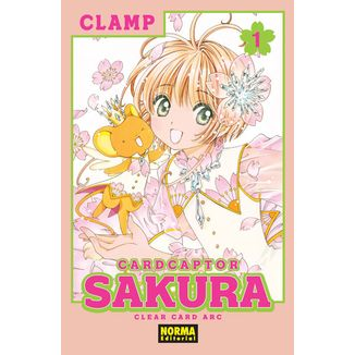 Card Captor Sakura Clear Card Arc #01 Manga Oficial Norma Editorial