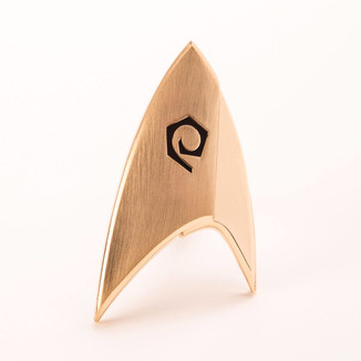 Broche Emblema Enterprise División Operaciones Star Trek