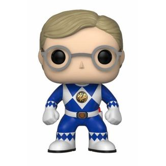 Funko POP! Ranger Azul sin casco Power Rangers