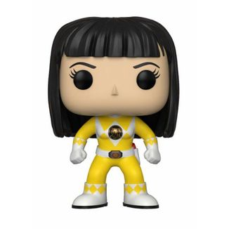 Funko POP! Ranger Amarillo sin casco Power Rangers