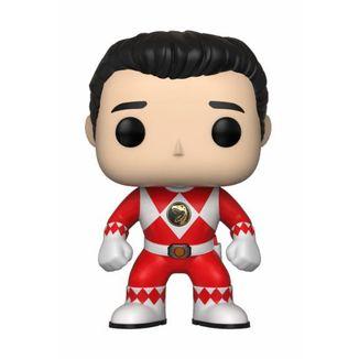 Funko POP! Ranger Rojo sin casco Power Rangers