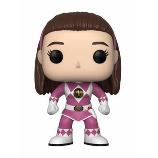 Funko POP! Ranger Rosa sin casco Power Rangers