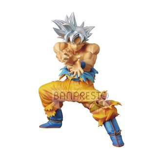 Figura Son Goku Ultra Instinct Dragón Ball Super the super Warriors special