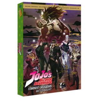 JoJo's Bizarre Adventure Season 2 Stardust Crusaders Part 3 DVD