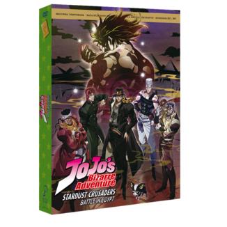 JoJo's Bizarre Adventure Temporada 2 Stardust Crusaders Parte 3 DVD