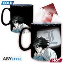 Kira & L Heat Change Mug Death Note