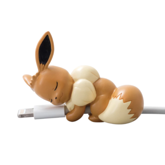 Gashapon Eevee Pokemon Sleeping Cable