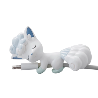 Gashapon Vulpix Alola Pokemon Sleeping Cable