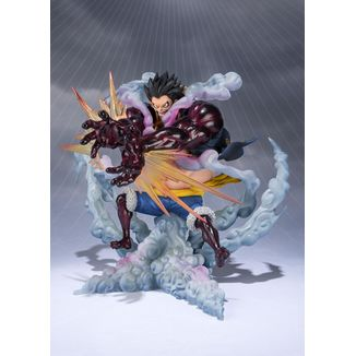 Monkey D. Luffy Figuarts Zero Gear 4 Leo Bazooka One Piece
