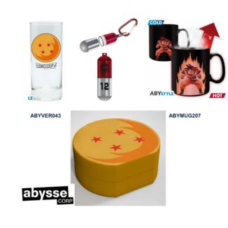 Llavero 3D, Taza y Vaso Dragon Ball Pack regalo