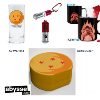 Gift Pack 3D Keychain, Mug and Dragon Ball Keychain