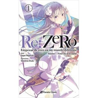 RE:ZERO 01 (Light Novel) Oficial Planeta Comic (Spanish)