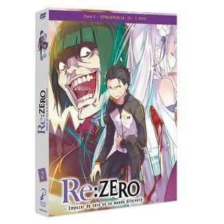Re:Zero - Empezar De Cero En Un Mundo Diferente Parte 2 DVD