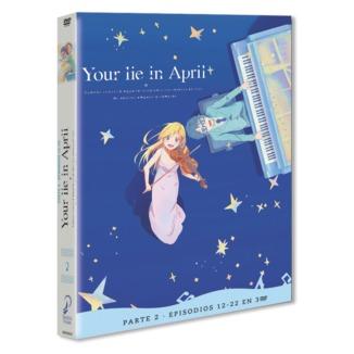 Your Lie In April Parte 2 DVD