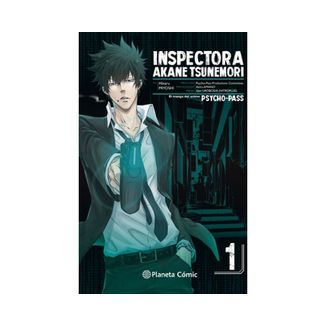 Inspectora Akane Tsunemori PSYCHO PASS #01