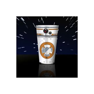 Vaso de Cristal BB8 Star Wars