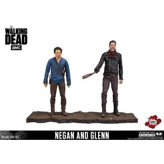 Figura The Walking Dead Negan y Glenn