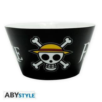 Bowl One Piece Skull