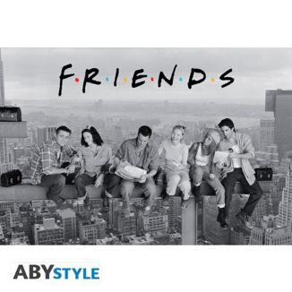 Poster Friends Almuerzo en lo alto de un Rascacielos 91.5 x 61 cms