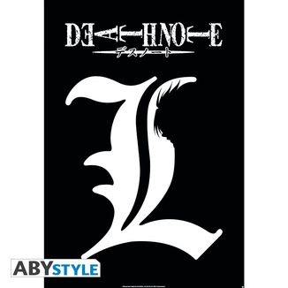 Poster Death Note L Simbolo 91.5 x 61 cms