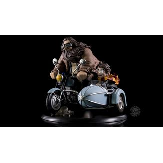 Q-Fig Harry Potter and Rubeus Hagrid limited edition Q-Fig MAX