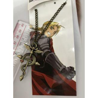 Colgante dorado Cruz de Flamel Fullmetal Alchemist