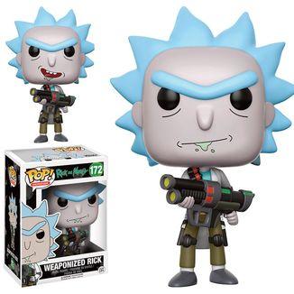 Funko Rick armado Rick y Morty Funko POP!