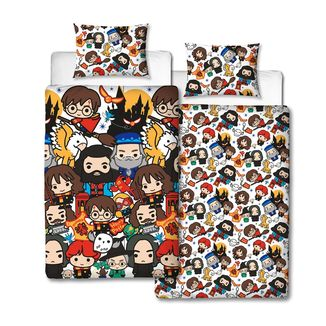 Charm Reversible Duvet Cover Set Harry Potter