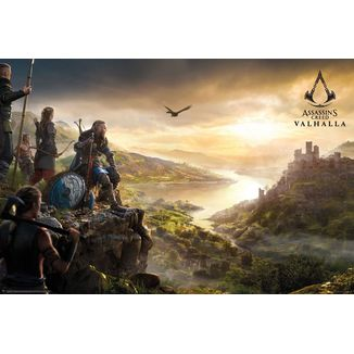 Poster Assassin's Creed Valhalla Vista 61x91cm