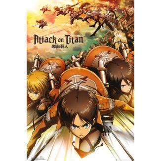 Attack Poster Attack On Titan 61 x 91 cm