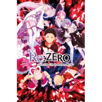 Key Art Re: Zero  Poster 61 x 91 cm