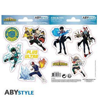 Heroes & Villains Stickers My Hero Academia 16 x 11 cm