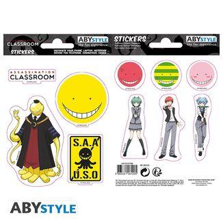 Assassination Classroom Stickers Koro Sensei 16 x 11 cm