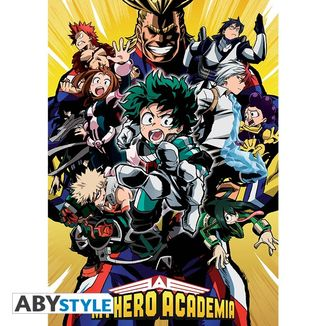 Poster My Hero Academia Groupe 91,5 x 61 cms