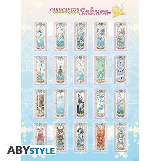 Clear Cards Card Captor Sakura Poster 52 x 38 cms