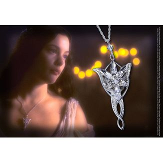 Sunset Star Pendant Arwen Evenstar The Lord of the Rings Sterling Silver