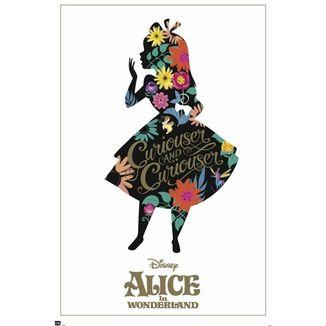 Poster Alicia en el Pais de las Maravillas Silueta Alicia