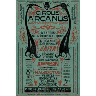 Poster Animales Fantasticos Le Cirque Arcanus