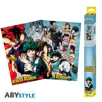 Artworks My Hero Academia Poster Set 52 x 38 cms