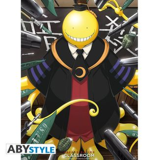 Poster Assassination Classroom Koro Sensei 52 x 38 cms