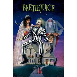 Poster Beetlejuice Pelicula 91,5 x 61 cms