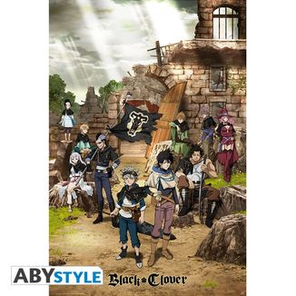 Poster Black Clover Black Bull Squad & Yuno 91,5 x 61 cms