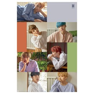 Poster Collage BTS 91.5 x 61 cms