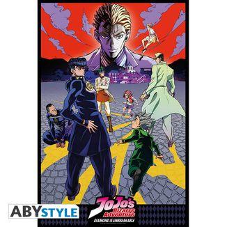 Diamond Is Unbreakable Poster Jojo's Bizarre Adventure 91,5 x 61 cms