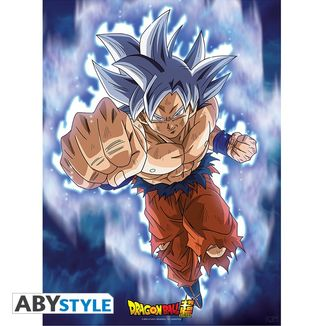 Poster Dragon Ball Super Goku Ultra Instinct 52 x 38 cms
