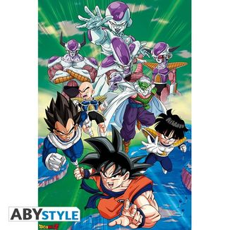 Dragon Ball Z Poster Freezer Group Arc 91,5 x 61 cms