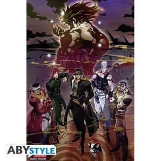 Group Poster Jojo's Bizarre Adventure Stardust Crusaders 91,5 x 61 cms