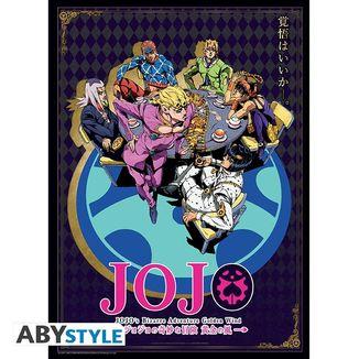 Poster Vento Aureo JoJo's Bizarre Adventure 52 x 38 cms
